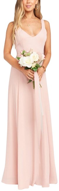 Item - Dusty Blush Crisp Jenn Long Casual Maxi Dress Size 8 (M)