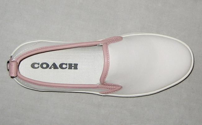 Coach Tea Rose Pink Slip-on C115 Leather Sneakers Size US 8 Regular (M, B) Coach Tea Rose Pink Slip-on C115 Leather Sneakers Size US 8 Regular (M, B) Image 6