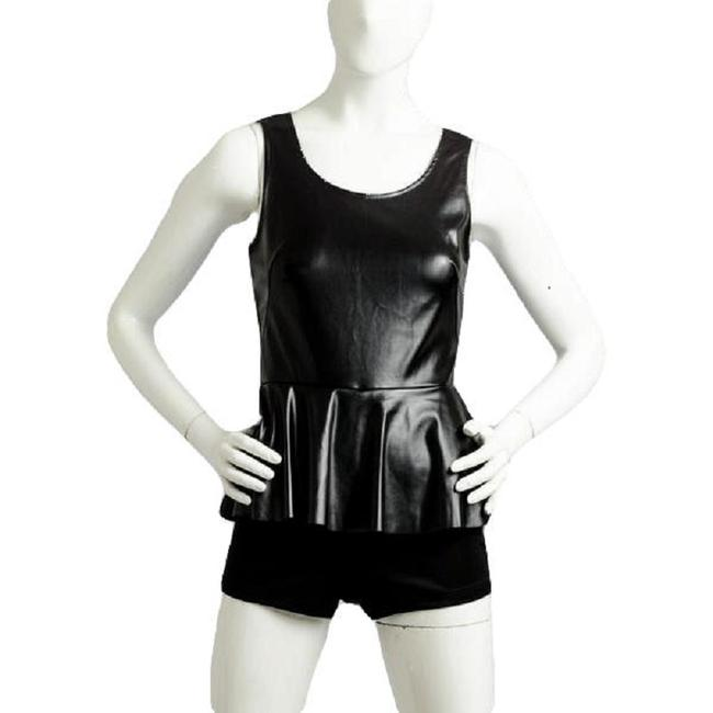 Item - Black Girl Harley Leatherette Romper Small Sku 000066 Cover-up/Sarong Size 10 (M)