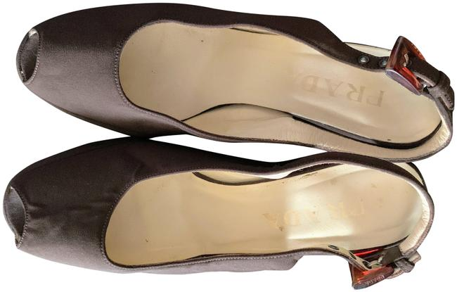 Item - Brown Slingback Wedges Size EU 37.5 (Approx. US 7.5) Regular (M, B)