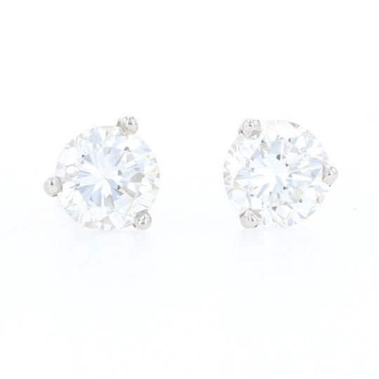Preload https://img-static.tradesy.com/item/27991226/wilson-brothers-jewelry-white-gold-diamond-stud-14k-round-brilliant-cut-106ctw-z1024-earrings-0-0-540-540.jpg