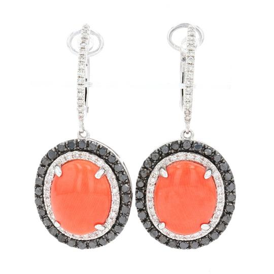Preload https://img-static.tradesy.com/item/27991257/wilson-brothers-jewelry-white-gold-coral-and-diamond-halo-dangle-hoop-14k-oval-e9856-earrings-0-0-540-540.jpg