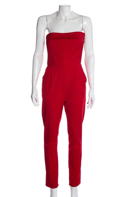 Preload https://img-static.tradesy.com/item/27991442/valentino-red-bow-accent-strapless-romperjumpsuit-0-0-650-650.jpg