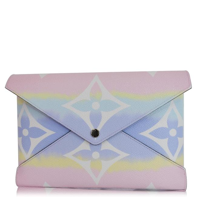 Louis Vuitton Pastel Pochette Kirigami Large Monogram Escale Wallet Louis Vuitton Pastel Pochette Kirigami Large Monogram Escale Wallet Image 1