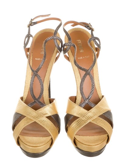 Preload https://img-static.tradesy.com/item/27991503/fendi-gold-and-metallic-fen145386-sandals-size-us-12-regular-m-b-0-0-540-540.jpg