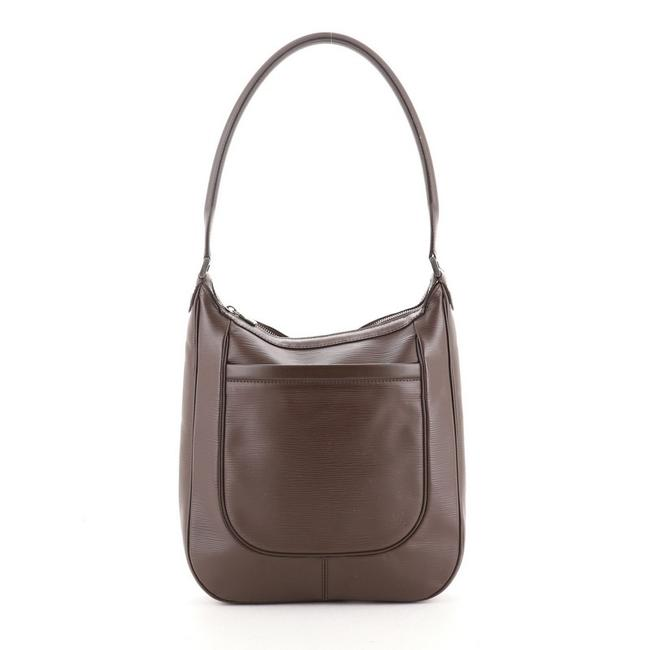 Louis Vuitton Matsy Handbag Epi Gm Brown Leather Shoulder Bag Louis Vuitton Matsy Handbag Epi Gm Brown Leather Shoulder Bag Image 1