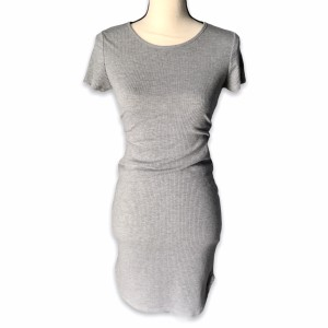 Vibe Sportswear short dress gray Summer Comfy Comfortable Stretch on Tradesy
