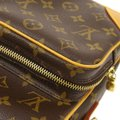 Louis Vuitton Amazone Amazon Like New Discontinued Brown Monogram Canvas and Calfskin Cross Body Bag Louis Vuitton Amazone Amazon Like New Discontinued Brown Monogram Canvas and Calfskin Cross Body Bag Image 9