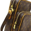 Louis Vuitton Amazone Amazon Like New Discontinued Brown Monogram Canvas and Calfskin Cross Body Bag Louis Vuitton Amazone Amazon Like New Discontinued Brown Monogram Canvas and Calfskin Cross Body Bag Image 7
