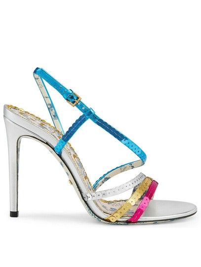 Preload https://img-static.tradesy.com/item/27991607/gucci-silver-haines-metallic-leather-sequins-strappy-heel-slingback-sandals-size-eu-405-approx-us-10-0-0-540-540.jpg