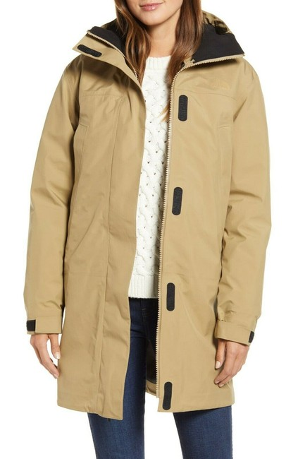Item - Beige Transverse Triclimate 800 Fill Power Down 3-in-1 Coat Size 12 (L)