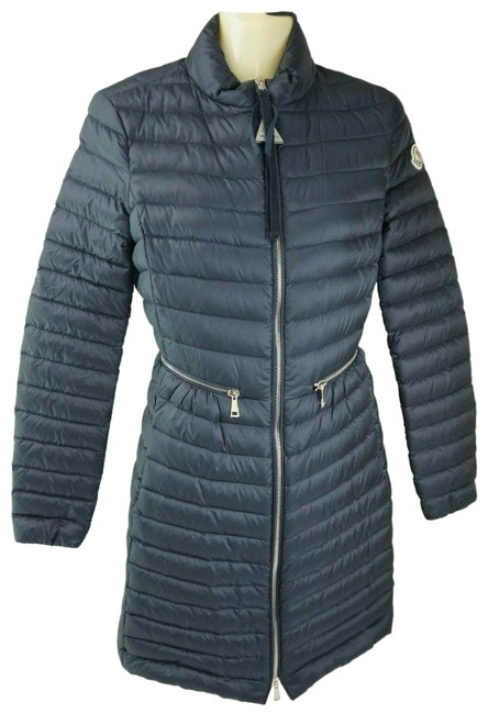 Item - Blue Agatelon Down Quilted Puffer Navy Womens Coat Size 2 (XS)