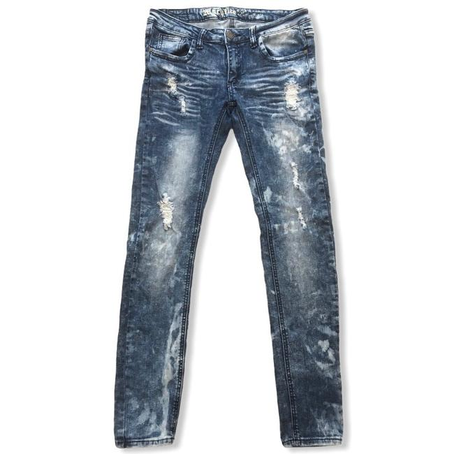 Item - Blue Distressed Neuf Mode Skinny Jeans Size 10 (M, 31)