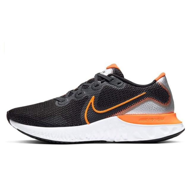 Item - Black Orange Gray and White Renew Run Running For Mens Ck6357-001 Sneakers Size US 9 Regular (M, B)