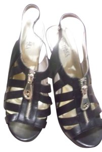 MICHAEL Michael Kors Woman Size 8 Heels Black Platforms