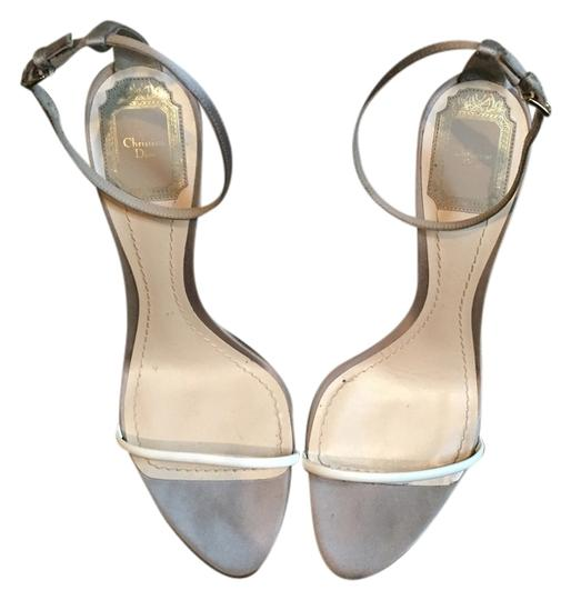 Preload https://item3.tradesy.com/images/dior-silverlavender-and-white-sandals-size-us-9-2799397-0-0.jpg?width=440&height=440