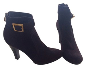 Tory Burch Dark Brown Suede Boots