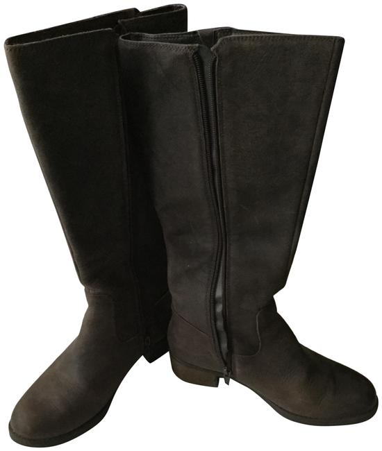 Item - Brown Suede Tall Boots/Booties Size US 6 Regular (M, B)