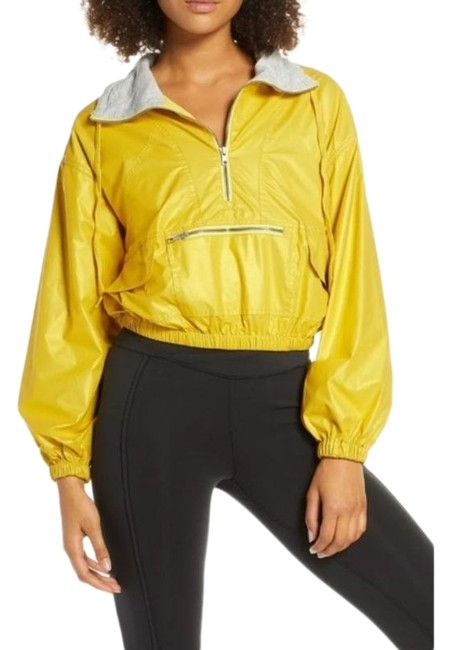 Item - Reflective Yellow Gold Activewear Outerwear Size 0 (XS)
