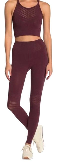 Item - Red Night Gone Adrift Activewear Bottoms Size 4 (S, 27)