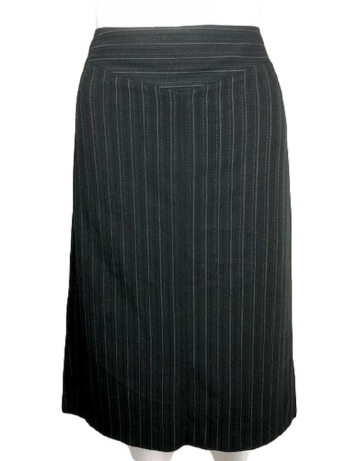 Item - Black and Gold Mid Flare (Sku 001007-4) Skirt Size 4 (S, 27)