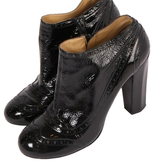 Item - Black Patent Leather Ankle Boots/Booties Size US 10 Regular (M, B)