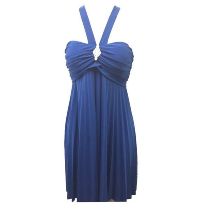 Item - Blue Homecoming 9/10 Short Cocktail Dress Size 10 (M)