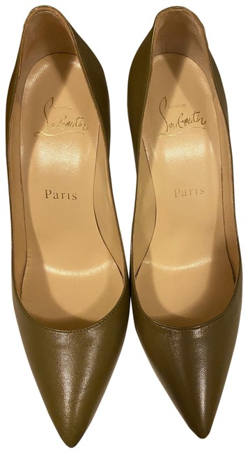 Item - Olive Pigalle Pumps Size EU 36 (Approx. US 6) Narrow (Aa, N)