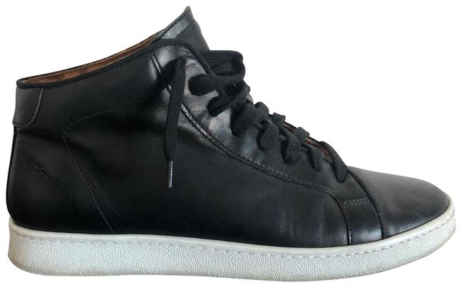Item - Black Leather High Top Sneakers Size US 10 Regular (M, B)