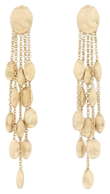 Item - Yellow Gold Siviglia Collection 5-strand Dangle 18k Earrings