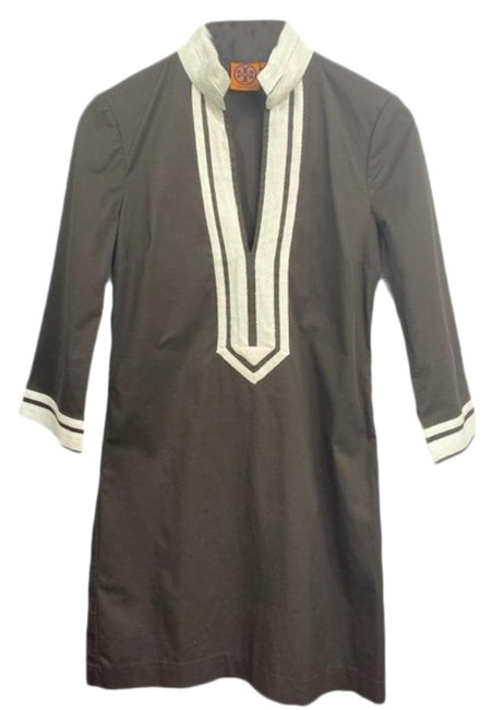 Item - Brown No Mid-length Short Casual Dress Size 2 (XS)