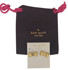 Kate Spade Kate Spade Gold Bow Earrings