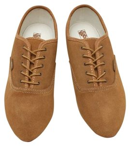 Vans Suede Vintage Nautical Casual Bsuiness Tan Rare brown Flats