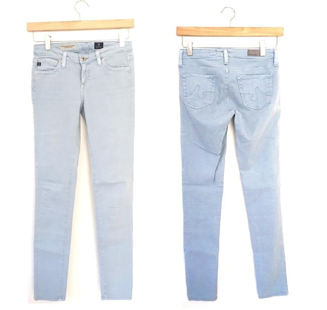 Item - Light Blue Wash The Legging Angkle Skinny Jeans Size 24 (0, XS)