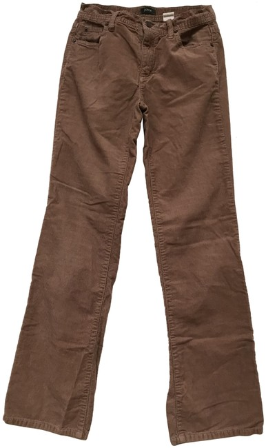 Item - Light Brown Wash Mid Rise Toothpick Corduroy Straight Leg Jeans Size 27 (4, S)