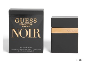 Guess FREE men's with $100 purchase. guess noir.