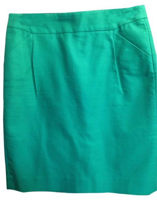 J.Crew Skirt Green - Kelly