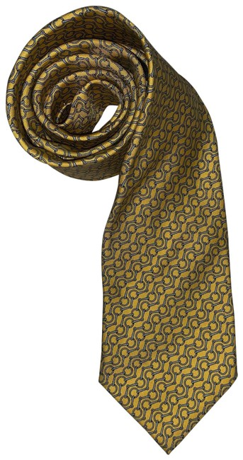 Item - Butter Yellow #606003 Silk Necktie