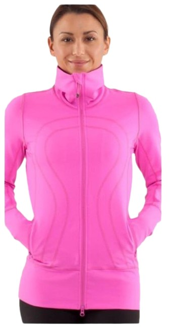 Item - Pow Pink In Stride Activewear Outerwear Size 4 (S)