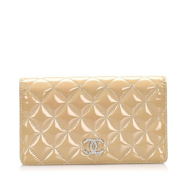 Chanel Brown Classic Cc Wallet Chanel Brown Classic Cc Wallet Image 1
