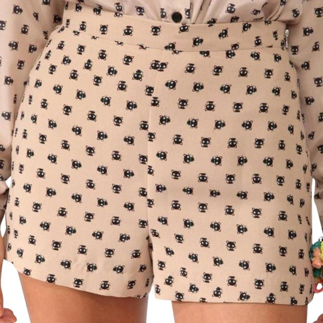 Item - Beige Hello Kitty Choco Cat High Shorts Size 4 (S, 27)
