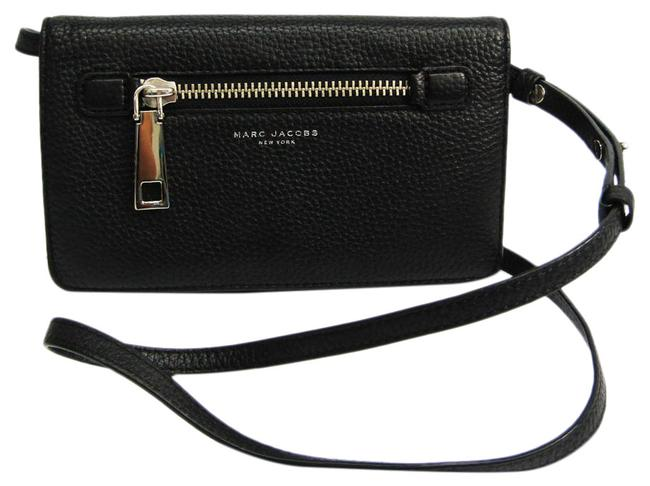 Item - Black Gotham with Leather Strap M0008464 Women's Leather Chain/Shoulder Wallet