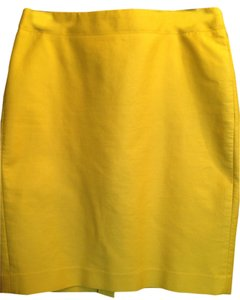 J.Crew Skirt Goldenrod