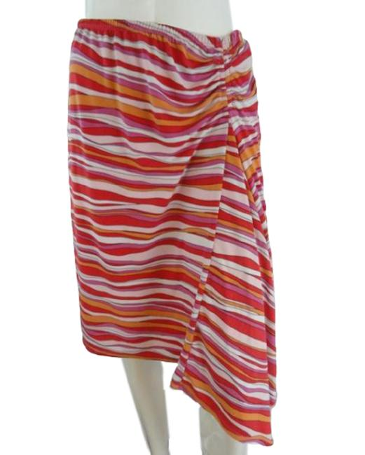 Item - Pink Orange Stripes (Sku 000271-17) Skirt Size 8 (M, 29, 30)