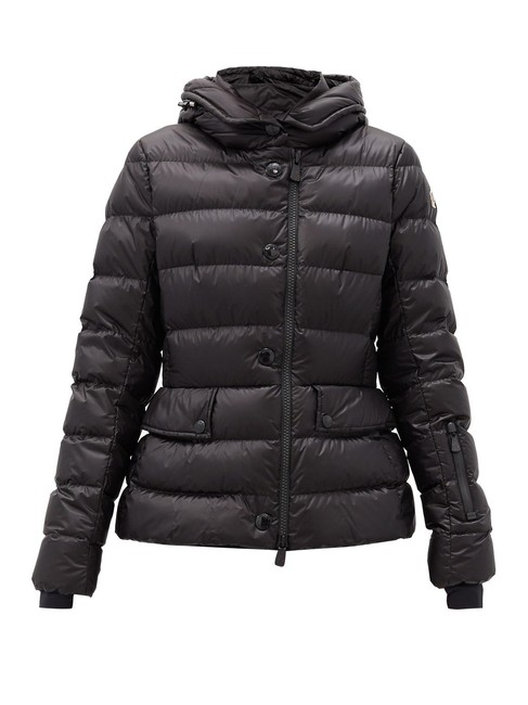 Moncler Black Mf Armonique Quilted-shell Jacket Size 2 (XS) Moncler Black Mf Armonique Quilted-shell Jacket Size 2 (XS) Image 1