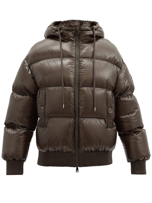 Item - Brown Mf Runio Down-filled Quilted-shell Jacket Size 4 (S)