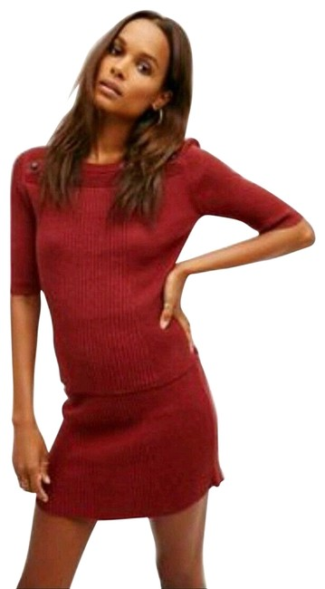 Item - Rosewood Red Little Minx Sweater Set Skirt Size 6 (S, 28)