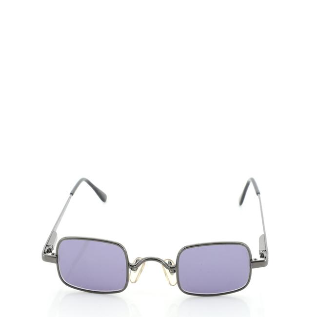 Chanel Gray Square Metal Sunglasses Chanel Gray Square Metal Sunglasses Image 1