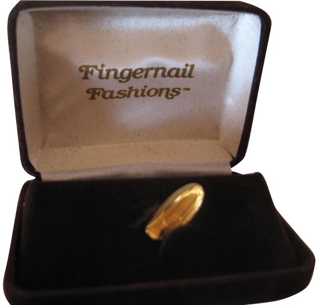 Item - gold Over Sterling Silver Vermeil Nail Fashion