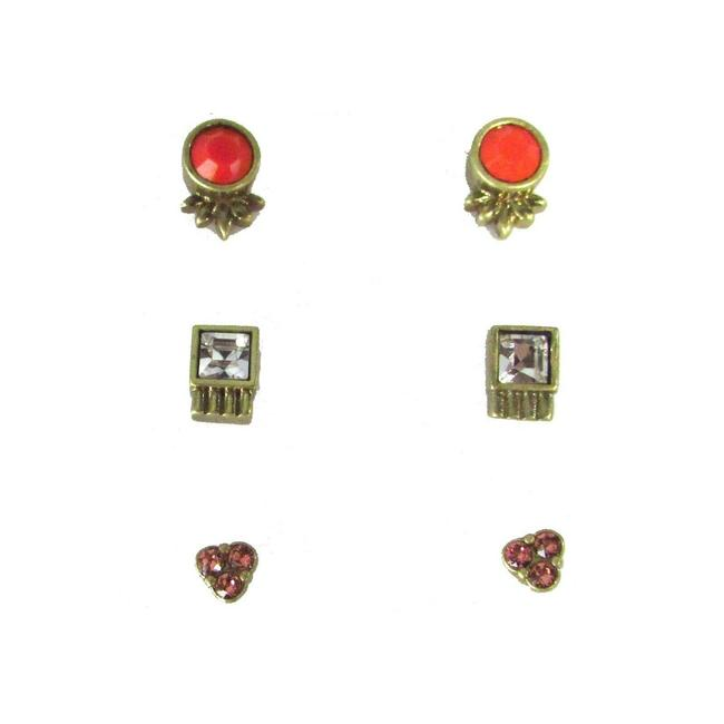 Item - Multicolor Color Riot Trio Earrings